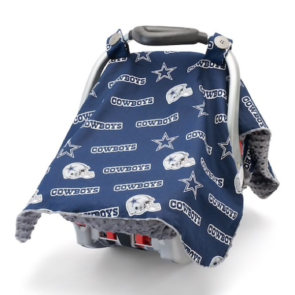 Fine Euc Dallas Cowboys Baby Fanatic Car Seat Cover Alphanode Cool Chair Designs And Ideas Alphanodeonline